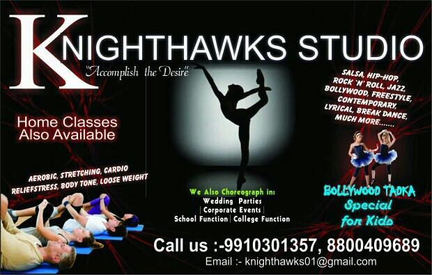 fitness dance studio in noida  - by Knighthawks Studio, Noida