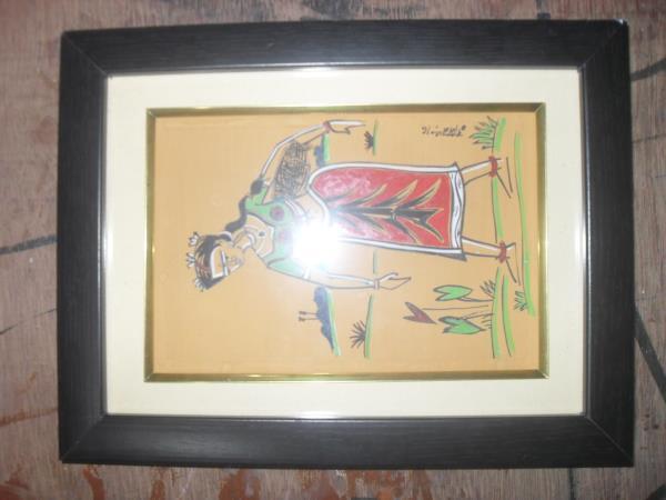 art paper , water color & poster color - by Chittakalpa, KOLKATA