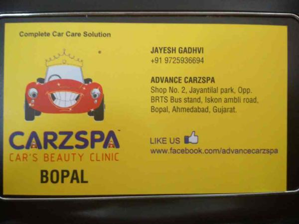 We provide professional car detailing and car wrapping services in ahmedabad. Your onr stop shop for all your car care needs. - by Carz Spa , Ahmedabad
