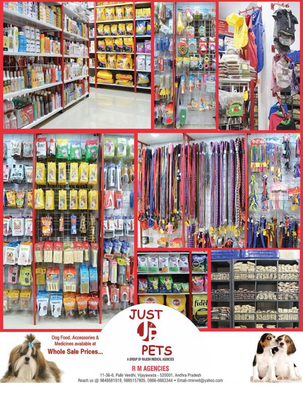 JUST PETS-A NOBLE HOUSE OF ALL PET NEEDS - by Just Pets, Vijayawada