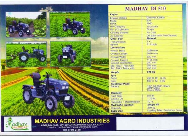 madhav DI 510 - by Madhav Agro Industries, Rajkot