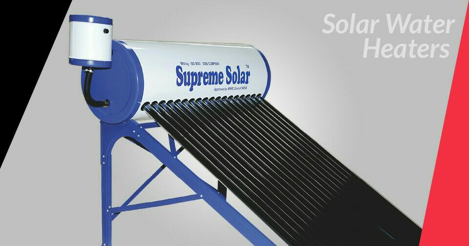 Solar Water Heater - by Bismi Electronics, Salem