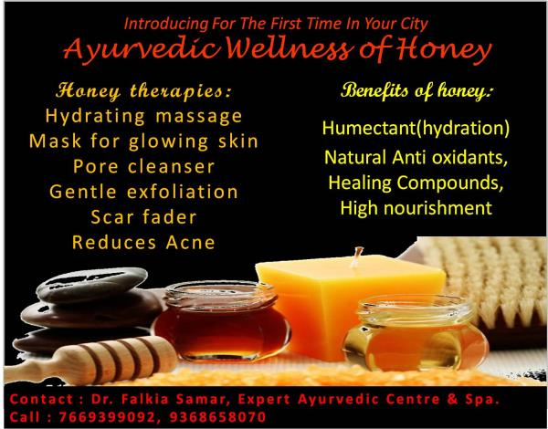 The diligent little bee has been an almost invisible companion to humanity for a very long time. NOW ENJOY THE BENEFITS OF HONEY IN AYURVEDIC WELLNESS MASSAGES AND THERAPIES, ONLY AT EXPERT AYURVEDIC CENTRE & SPA - by Expert Clinics: Complete Dental, Ayurveda & Cosmetic Care, Agra