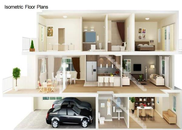 Typical Floor Plan in Bangalore - by CV Architects, Bangalore