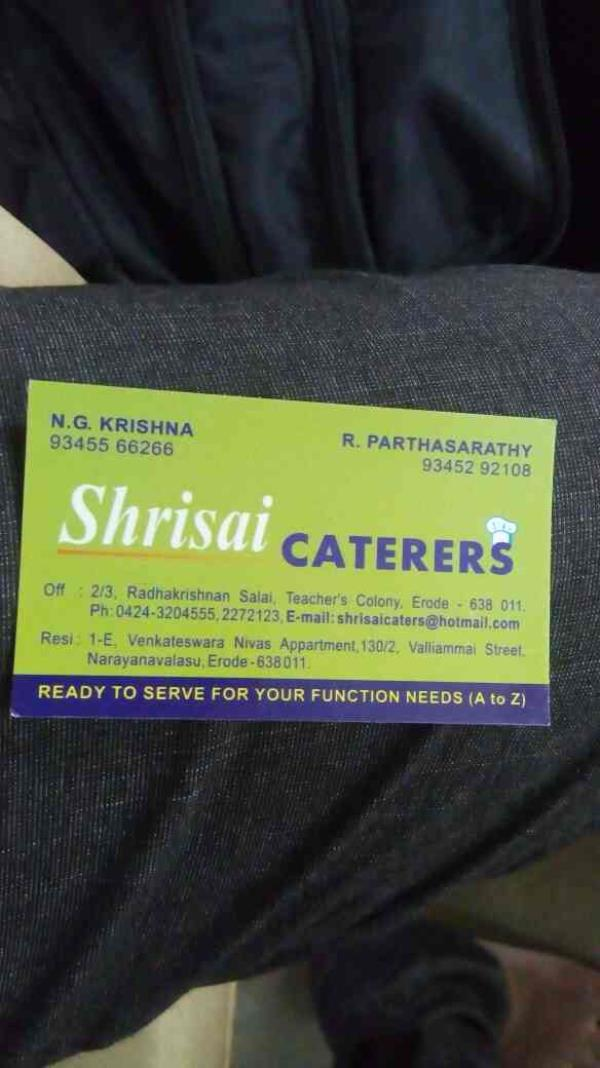 we are the best weddings contractors for A to Z services - by Shrisai Caterers, puthukkottai
