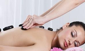 Head, Neck & Shoulder Massage  Hot Stone therapy is a kind of massage that uses treated volcanic rocks such as basalt that are believed to promote relaxation as well as eliminating negative energy from the body, mind and soul. Other benefit - by Sparsahana Medi SPA, Udaipur