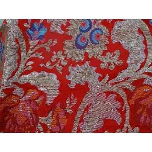 Polyester Jacquard Fabric Manufacturer  Dhruvraj International provided fabric is precisely spun using quality tested yarns and advanced weaving technology under the vigilance of our skilled professionals. - by Dhruv Raj International, Noida