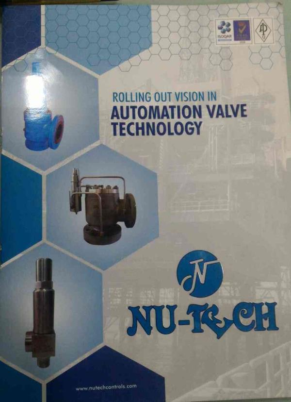 We are manufacturing and exporters of industrial valves, automatic control valves, pressure reducing valves in india - by Nu-tech Valves, Ahmedabad