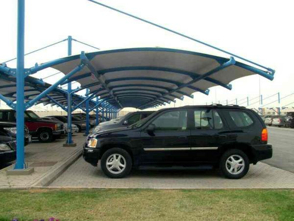 car parking tensile structure in delhi - by Tensile Structure, Gurgaon