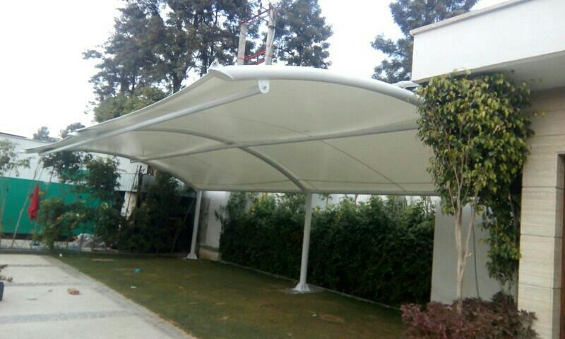 Tensile structure car parking new concept design  - by Tensile Structure, Gurgaon