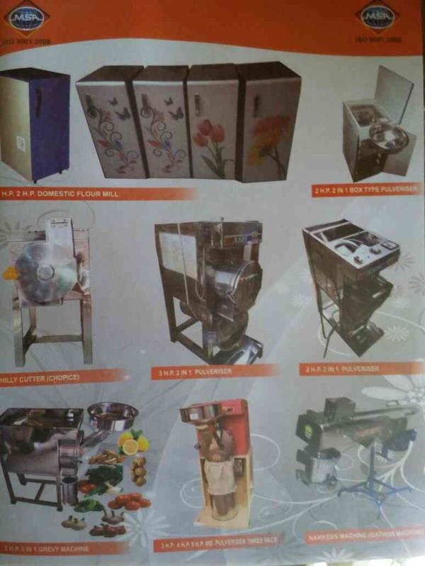 Domestic Flour Mill Manufacturers in Rajkot-Gujarat - by Shubh Saraswati Industries, Rajkot