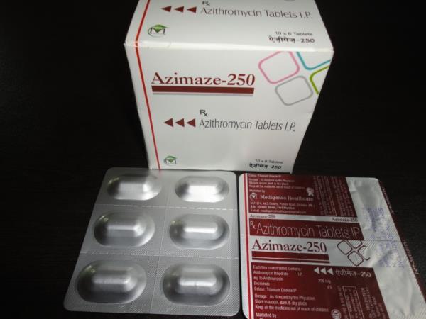 Azimaze-250 (Tab) - by Mediganza Healthcare, Mohali