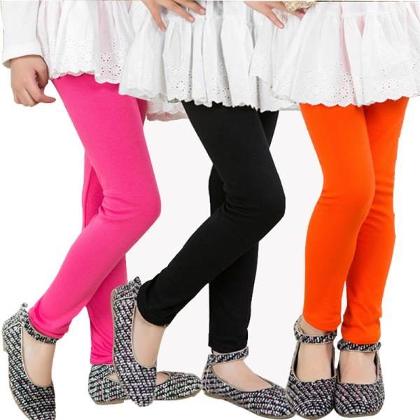 New Candy Colors Baby Girls Leggings Children Girls Elastic Pants - by Sonia Collection, Delhi