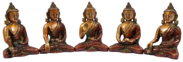Five types of Buddha set  2000  Rs - by PRASIDDH ENTERPRISES, Bangalore