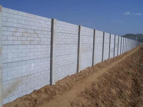 """New """"Precast Boundary Wall Molds"""" in india Now available With SRI KRISHNA OVERSEAS,  Since Precast Boundary Wall is manufactured in a well controlled casting environment it is always easier to control the concrete mix, all  placement, and c - by interlocking paver block making machine, Delhi"""