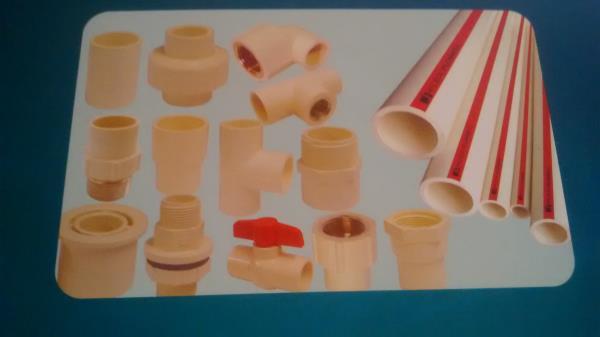 c p v c pipes fittings - by Kishan Hardware & Sanatory Store, Alwar