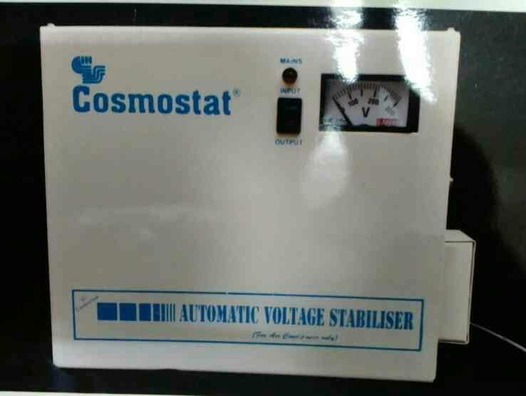"""COSMOSTAT"" HI-efficiency Wall Mounting Voltage Stabilizer and Power Controllers are built with the latest technologyto give you peace of mind with uncompromised protection for your Air Conditioner.  For more Info: http://www.servostabilize - by Cosmostat Industries, New Delhi"