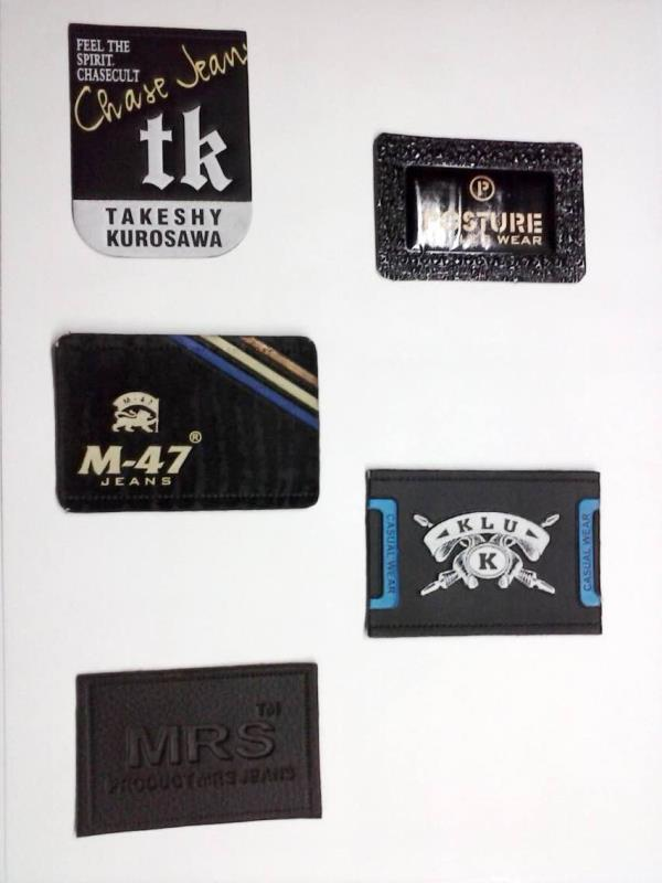 Leather labels for Jeans . - by Bajaj Printers - The House of Quality Printers, New Delhi