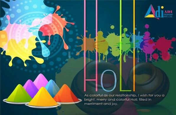 Happy Holi - by Adidesignes, Noida