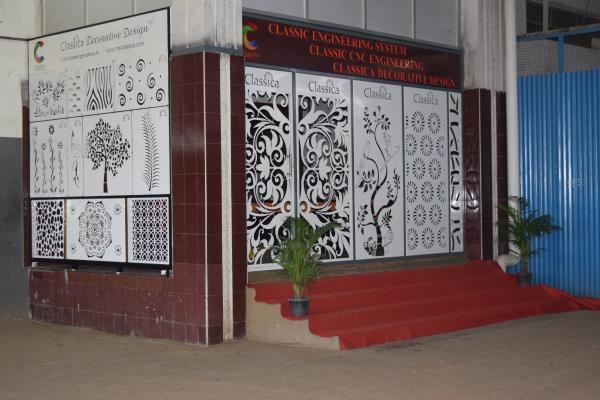 Laser Cut Design Panels In Coimbatore Balcony Railings In Coimbatore Stair Railings In Coimbatore Pipe Duct Covers In Coimbatore Window Grille In Coimbatore Pergola Panels In Coimbatore Light Boxes In Coimbatore - by Classica Decorative Design, Coimbatore