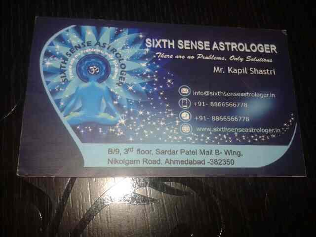 best astrologer in ahmedabad  - by Sixth Sense, Ahmedabad