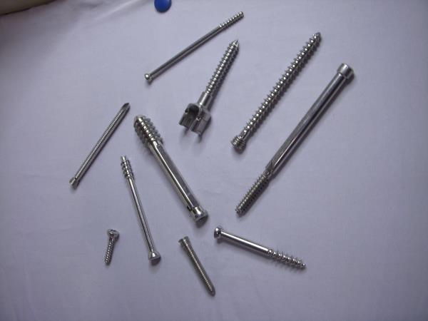 we are Manufacturer of Bone Screw used in bone Plates in Rajkot. - by Vishal Surgitech, Rajkot
