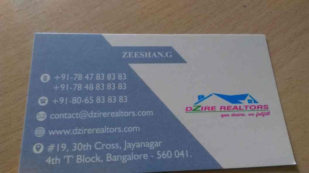 residential property for sale in jayanagar  - by Dzire, Bengaluru