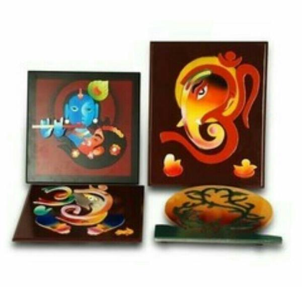 Handicraft item Supplier from Rajkot  Colour Photo Frame In rajkot , Gujarat , India. - by BH WOOD GALLARY, Rajkot