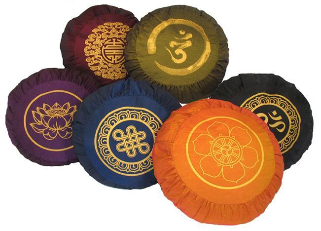 MEDITATION ZAFU - by Om Bodhisattva Complete Buddhist Meditation Supplies, New Delhi