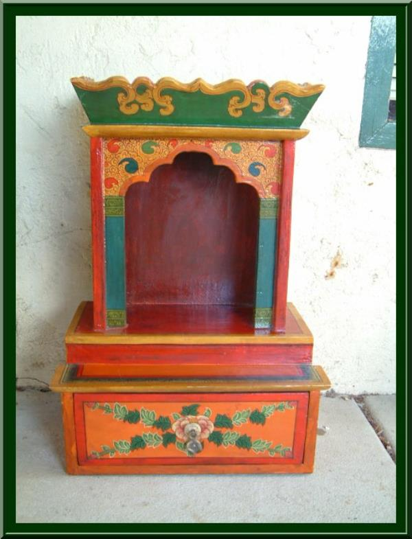 BUDDHIST ALTAR  - by Om Bodhisattva Complete Buddhist Meditation Supplies, New Delhi