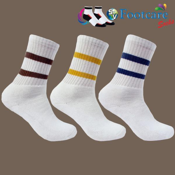 welcome to S.V HOSIERY , We are offering a wide range of sport socks. Our sport socks are available in different sizes & colors to suit the variegated choices of clients. Fabricated using premium grade raw material which is highly demanded  - by SV FOOTCARE, Ahmedabad