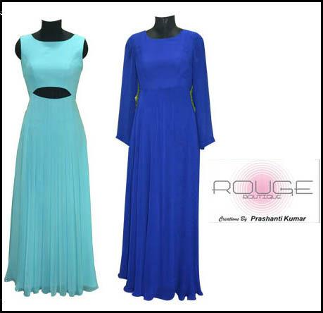 Exclusive Womenswear Designer Clothing.We are specialists in customised womenswear segment and a one stop shop for all your stylish clothing needs.We can design and make a garment exclusively to make you look beautiful for any occasion. Kin - by Rouge by Prashanti Kumar, Hyderabad