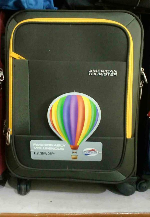 American Tourister Branded trolly bag with one year service  vishal suitcase house chandigarh - by Vishal Suitcase House, Chandigarh