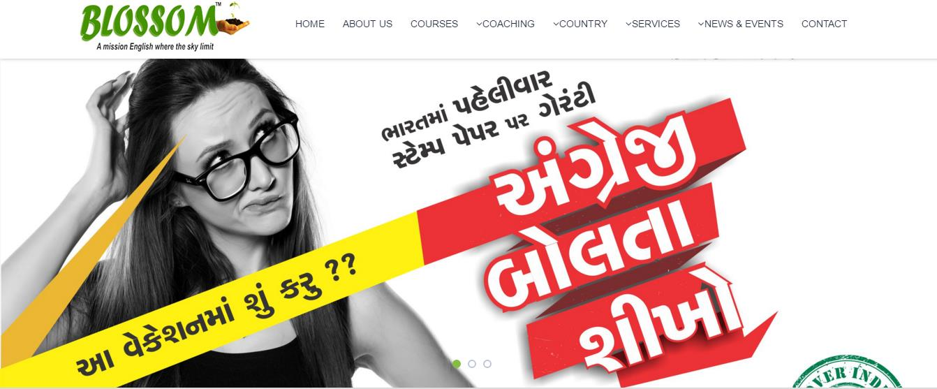 #Best English Speaking  #English Institute In Ahmedabad #Spoken English in Ahmedabad - by Blossom Institutes, Ahmedabad