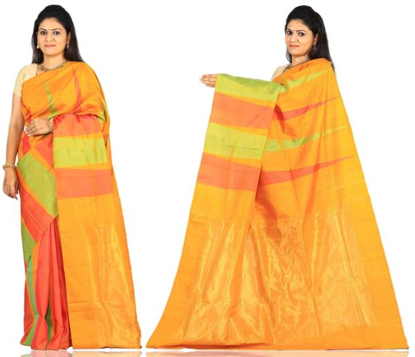 Price: - 9500/-   Uppada presents new collection of uppada sarees, uppada cotton silk sarees, uppada silk sarees, uppada silk sarees. Sign up now for E-book you will be updated with latest collection of ethnic verities. For More Info Click on :- www.uppada.com  We manufacture of Uppada sarees, Paithani sarees, Banarasi sarees, Venkatagiri Sarees, Gadwal Sarees, Khadi sarees, Hand Painted Kalamkari Dupatta, Ikkat sarees, Kanchipuram Sarees, Dupattas, Stoles etc. For more info us at 040 64640303, 441905005.  Buy online: - uppada.com - by Paithani, Hyderabad
