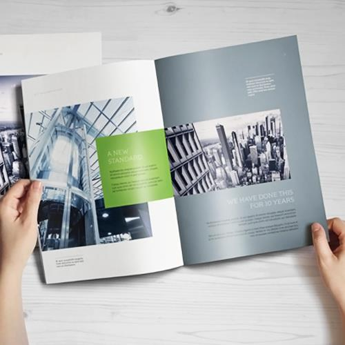 Brochure Designing service in Kolkata - by New Image, Kolkata