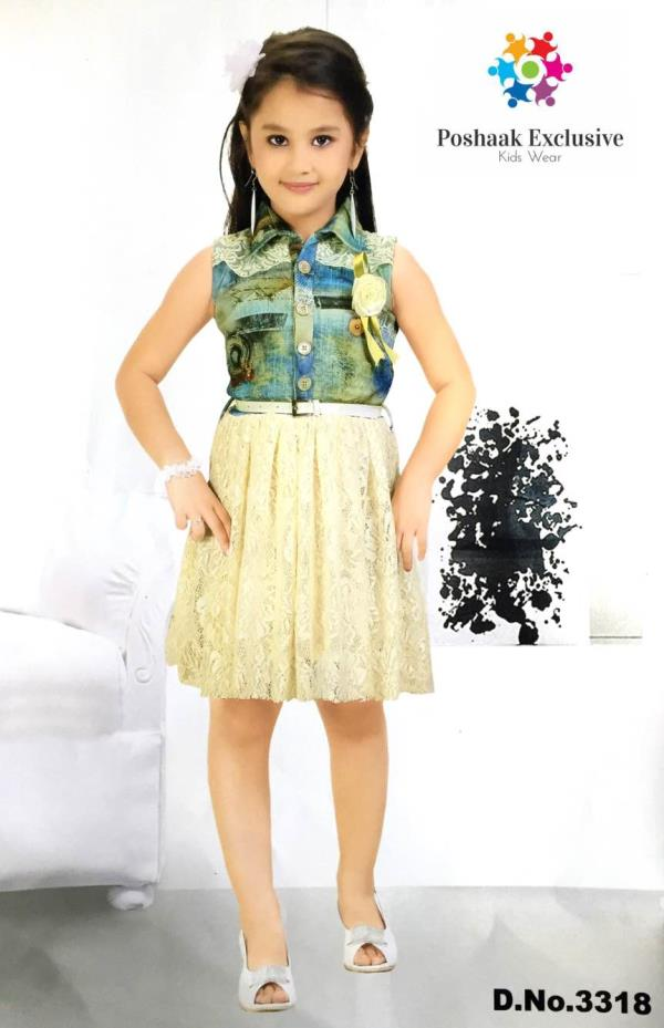 Frock-Girls Fashion - by Poshaak Exclusive, Hyderabad