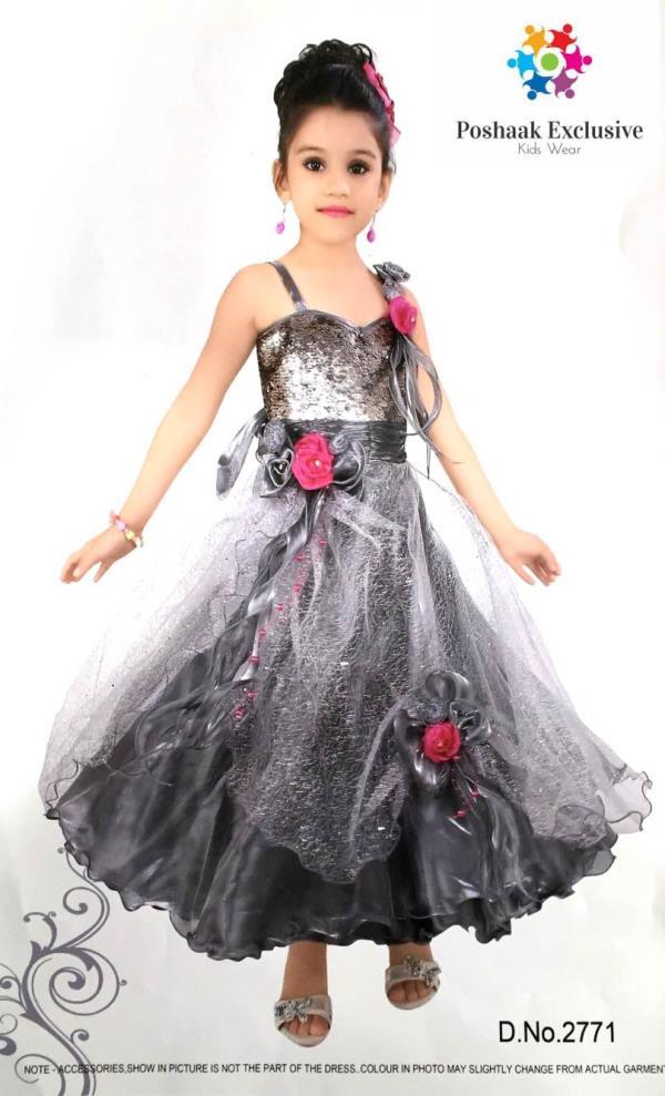 Beautiful Designer Gown - by Poshaak Exclusive, Hyderabad