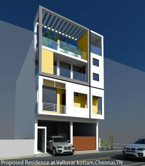 Our New project In T.nagar  We are One of The Best Construction Contractors in Chennai - by 4 Pillars Constructions & Designs, Chennai