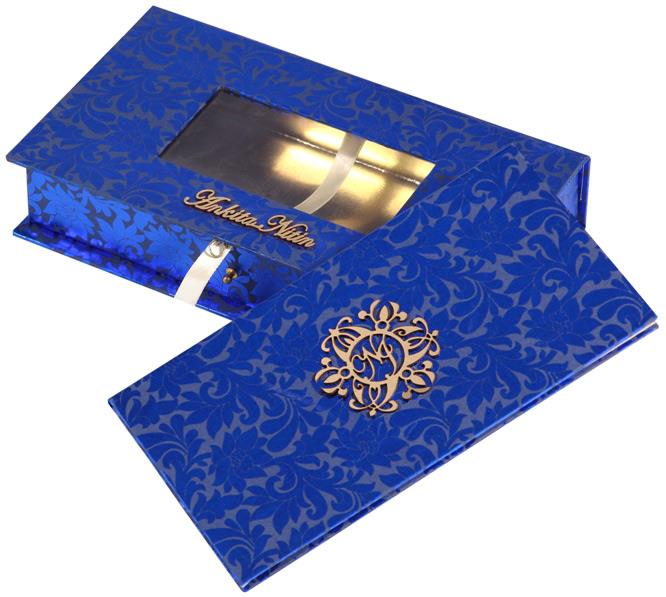 Modern Wedding Invitation Cards for you. Classy in look and feel, their designs are a drift from the usual invites. Usually picked for lavish weddings, they come in a wide range. So, you can always consider picking these up from our Exclusi - by Colour Box |  Designer Wedding Card Manufacturers, Delhi