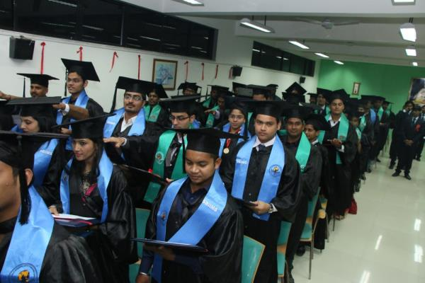 Convocation Ceremony of 2013-15 Batch.  - by IIMS (International Institute Of Management Studies), pune