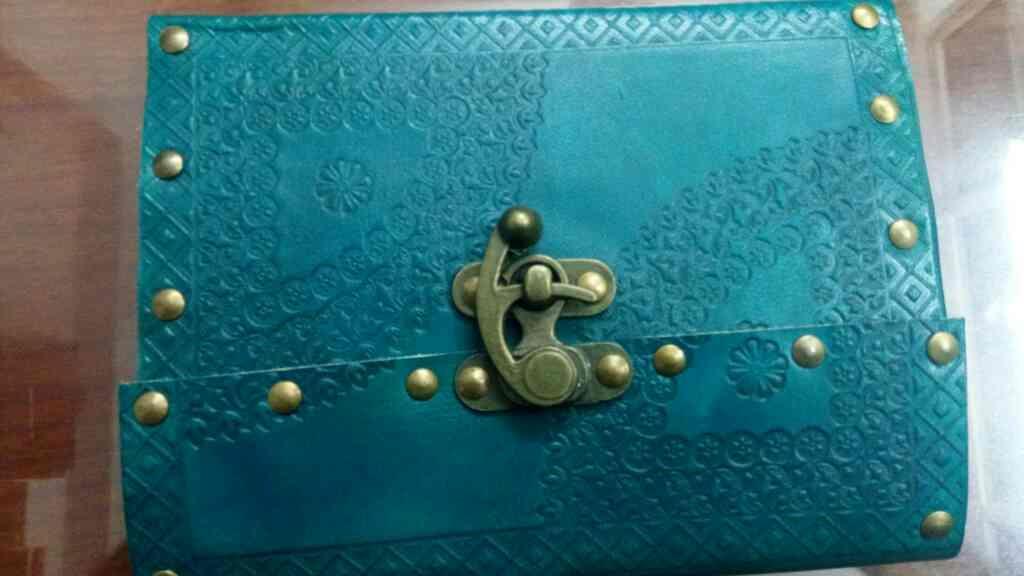 Leather Journal - by Ashrafi International, Jaipur