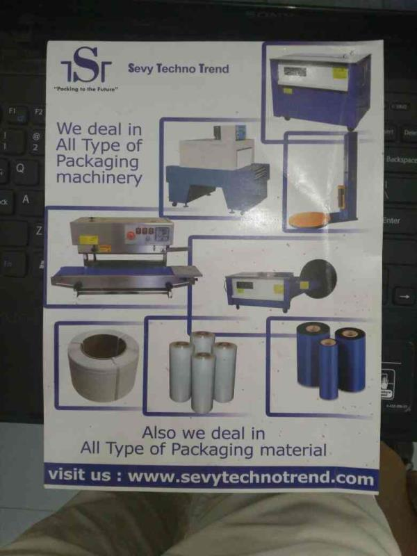 we are manufacturing all kind of packaging machine in Ahmedabad. - by Sevy Techno Trend, Ahmedabad