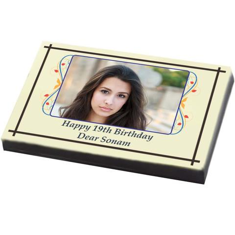Chocolates make for the most interesting and lovely birthday gifts. ChocoCraft has designed an innovative concept of printing on chocolates. Imagine your favourite flavoured chocolates printed with the image of the birthday boy/girl or any  - by Customized Chocolates | ChocoCraft Delhi, Delhi
