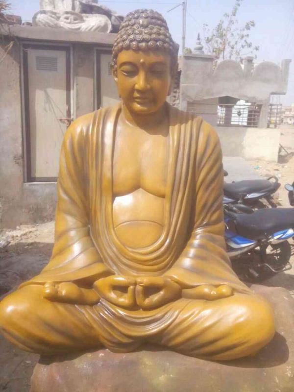 Jyoti fiber glass works ,  we manufactured BUDDHA STATUE for SECURITY AND INTELLIGENCE SERVICE INDIA LTD. DELHI .  www.Jyotifiberglassworks.com www.Jyotifiberglassworks.co.in  jignesh Rathod 09033813054 - by Jyoti Fiber Glass Works, Ahmedabad