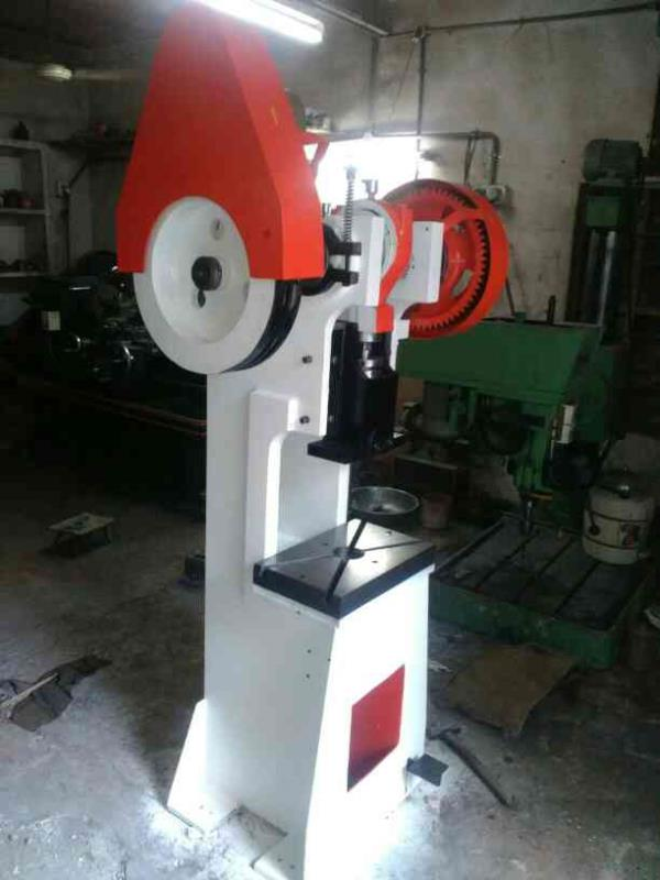 10 tons power press heavy  long and big shape special for big die use.. - by Om Shiv Power Press, Rajkot