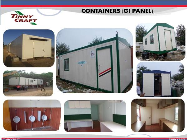 Manufacturers of Office Containers at Ddelhi - by Tinnycraft porta cabins, New Delhi