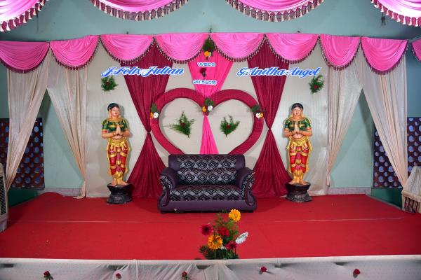 Stage Decoration In Dinidgul - by Vetri Matha Event, Dindigul