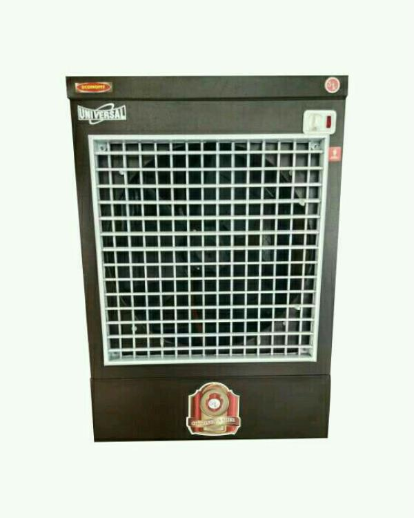 "Universal air Cooler  ECONOMY(window cooler)  (dimensions 25""L*21""W*35""H) * Powder coated  * Inverter compatible  * galvanized steel body  * power consumption : 210W   - by S S Trading Company, Ludhiana"