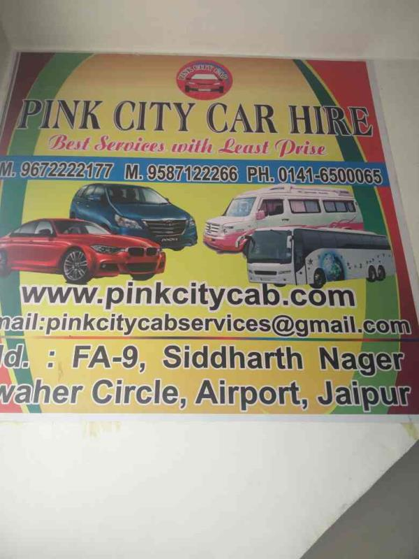 Car hire services in Jaipur  - by PINK CITY CAR HIRE TOUR & TRAVELS, Jaipur